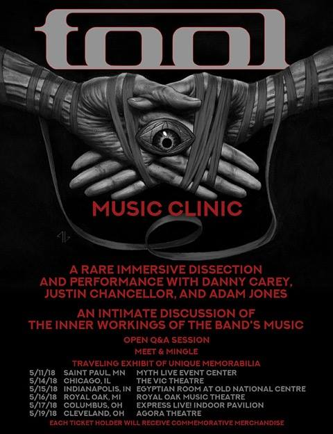 Tool Music Clinic