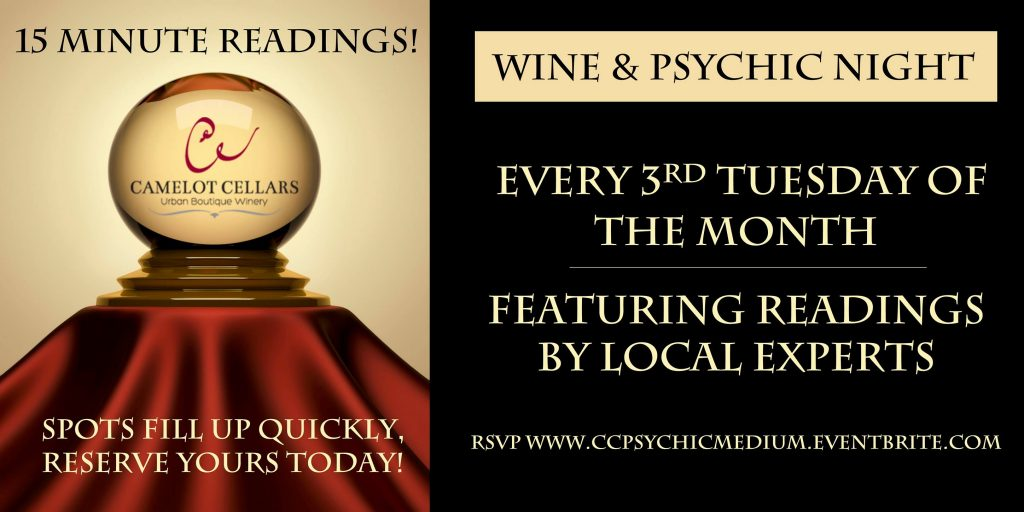 Wine and Psychic Night