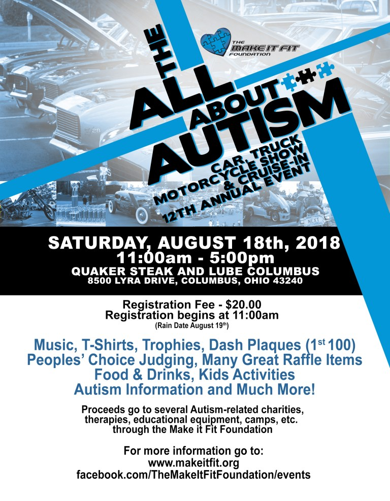 The All About Autism Car Show