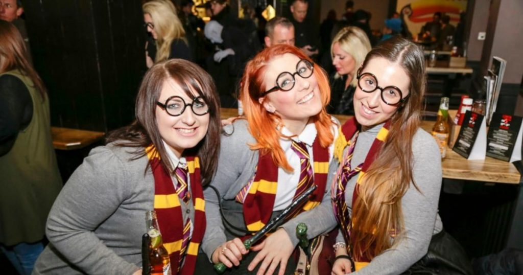 Wizards and Wands Bar Crawl
