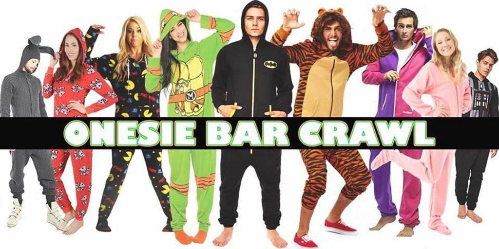 Onesie Bar Crawl
