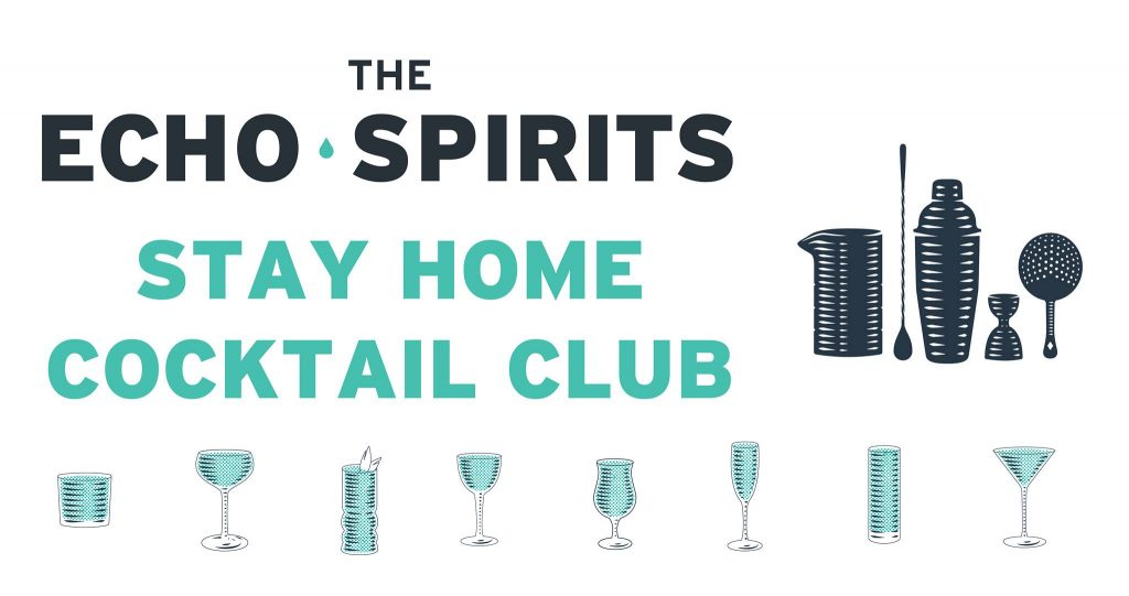 stay home cocktail club